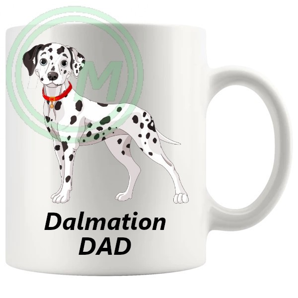 dalmation dad mug