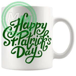 happy st patricks day mug