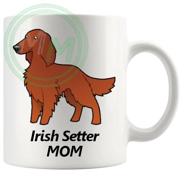 irish setter mom mug