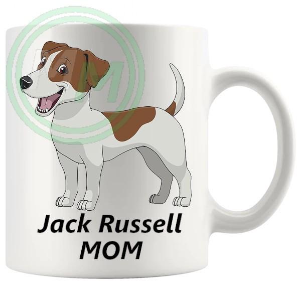 jack russell mom mug