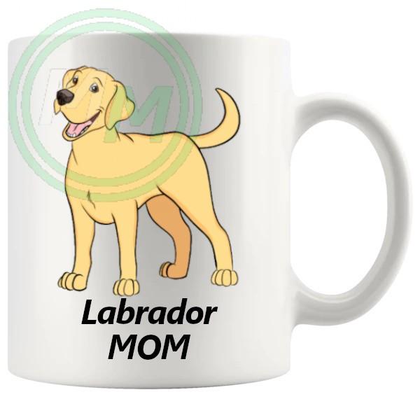labrador mom mug