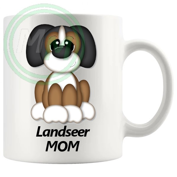 landseer mom mug