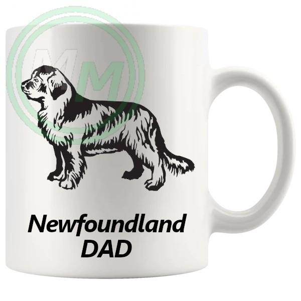 newfoundland dad mug