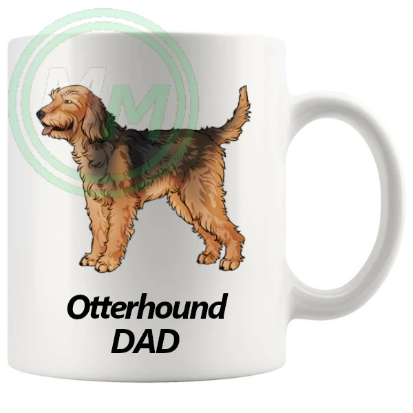 otterhound dad mug