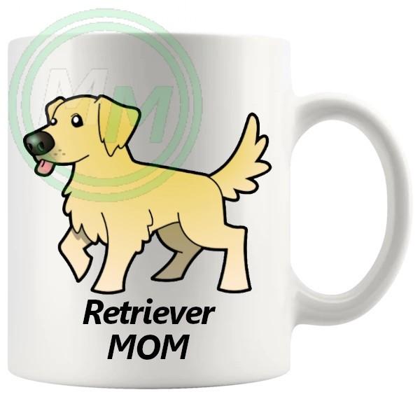 retriever mom mug