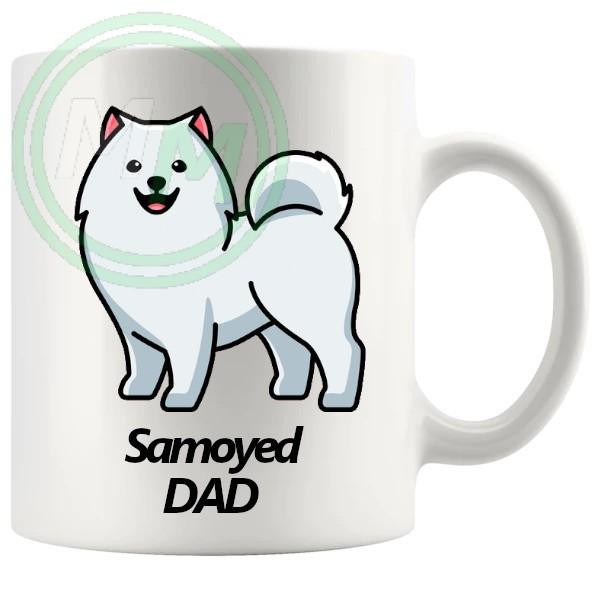 samoyed dad mug