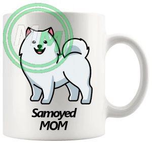 samoyed mom mug