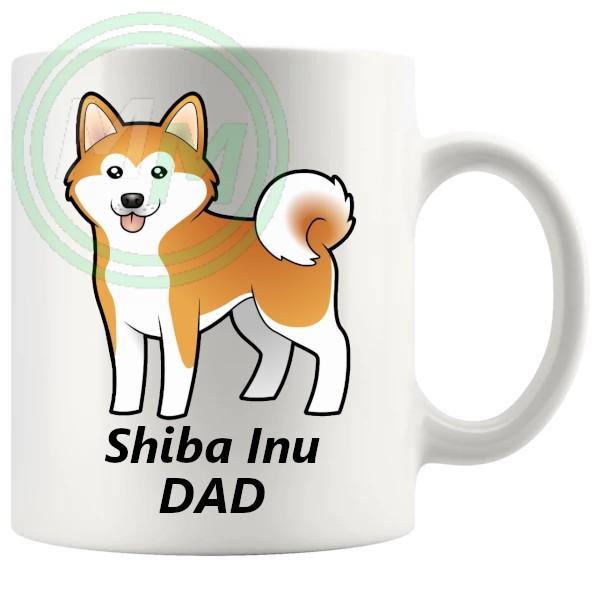 shiba inu dad mug