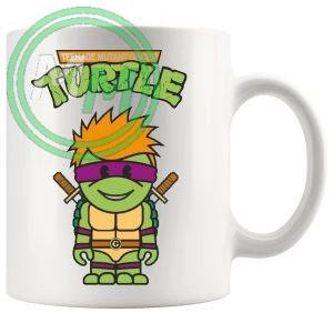 teenage mutant ginger turtle mug