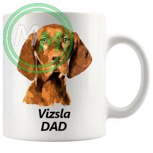 vizsla dad mug