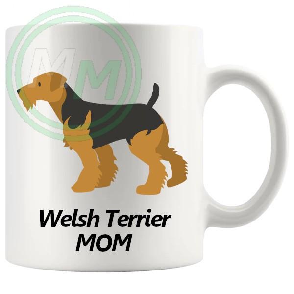 welsh terrier mom mug