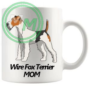 wire fox terrier mom mug