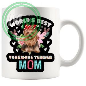 worlds best yorkshire terrier mug