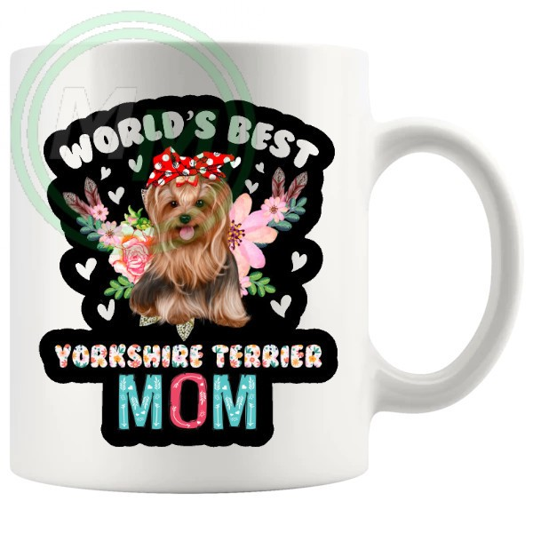 worlds best yorkshire terrier mug