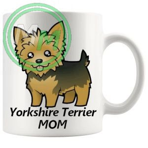 yorkshire terrier mom mug