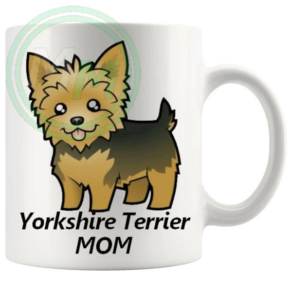 yorkshire terrier mom mug