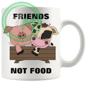 friends not food novelty vegan gifts