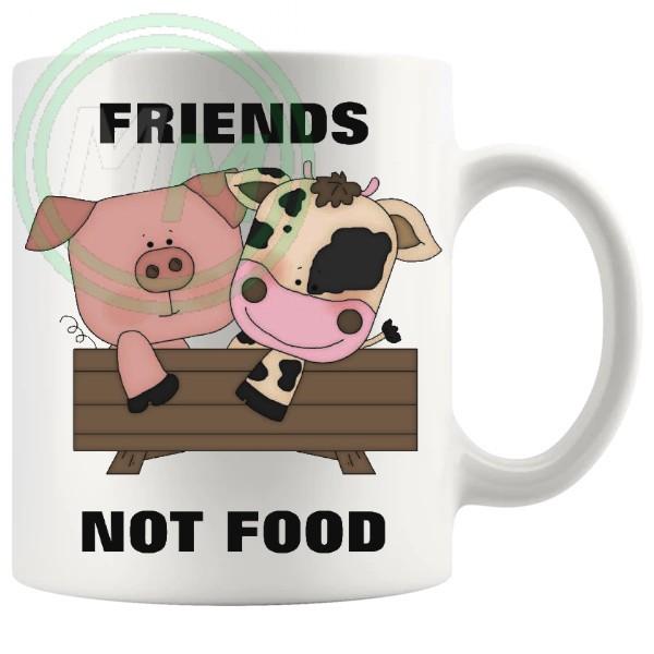 friends not food novelty vegan gifts