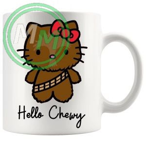 hello chewy mug