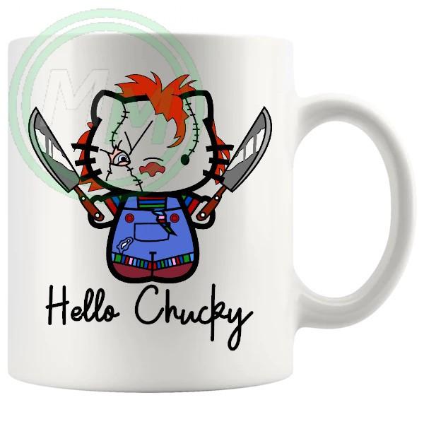 hello chucky mug