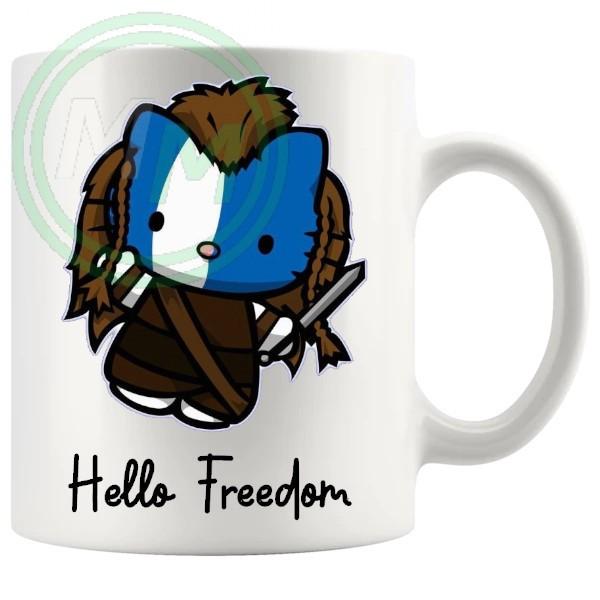 hello freedom mug