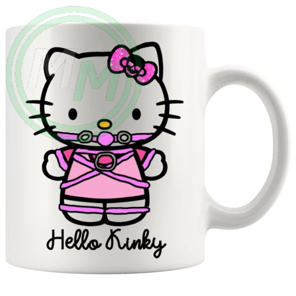 hello kinky mug