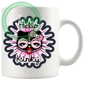 hello kinky style 2 mug