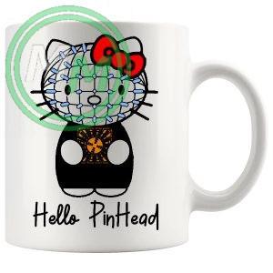 hello pinhead mug
