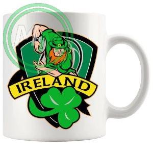 irish rugby badge