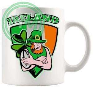 irish rugby badge style 2