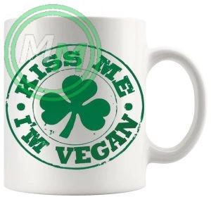 kiss me im a vegan