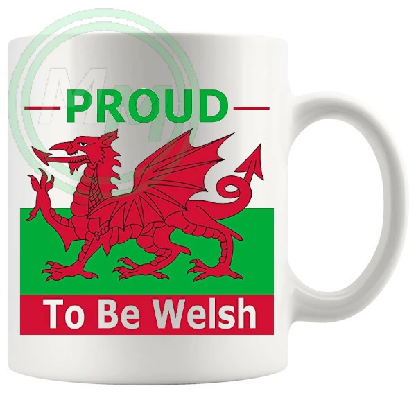 proud to be welsh novelty gift