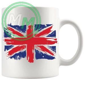 union jack flag gift mug