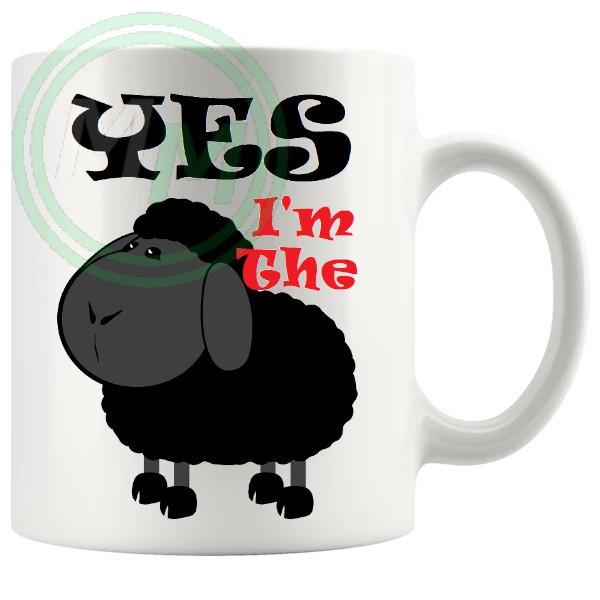 yes im the black sheep