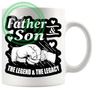 FATHER AND SON MUG