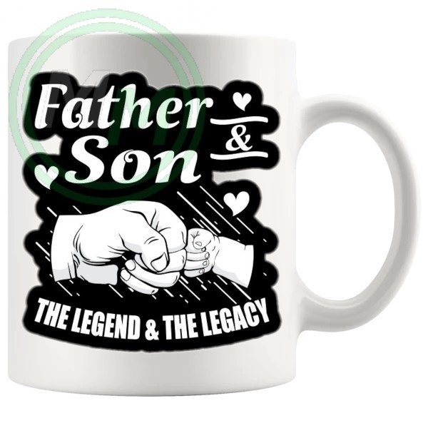 FATHER AND SON MUG