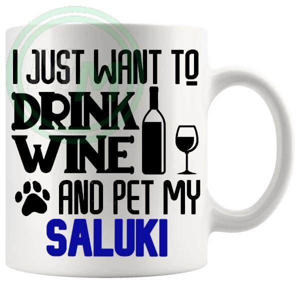 Pet My saluki blue