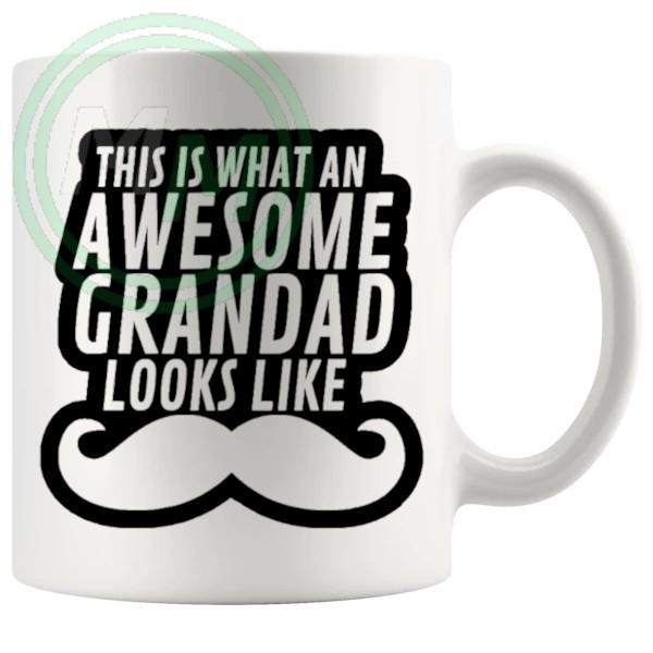 awesome grandpa in black