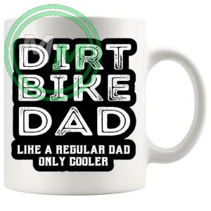 dirt bike dad mug
