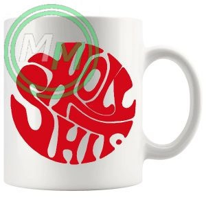 holy shit mug red