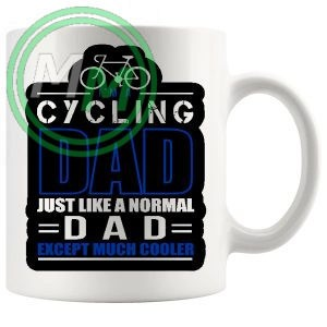 im a cycling dad blue