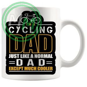 im a cycling dad yellow