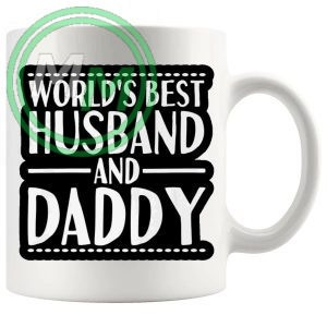 worlds best husband and daddy mug
