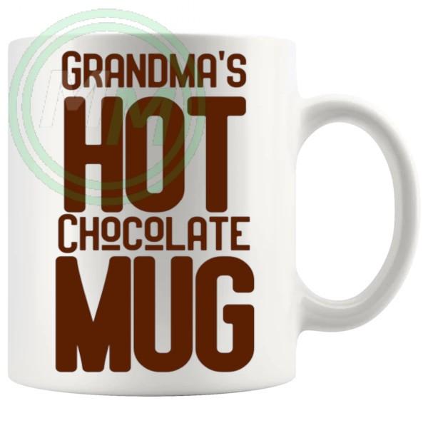 Grandmas Hot Chocolate Mug