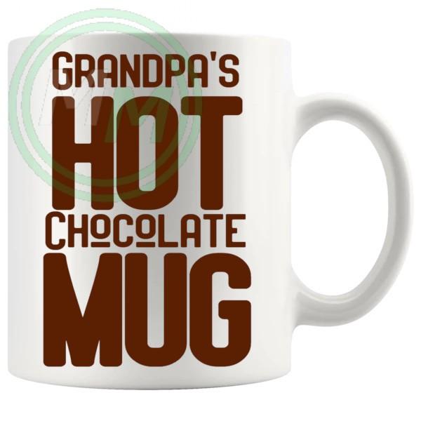 Grandpas Hot Chocolate Mug