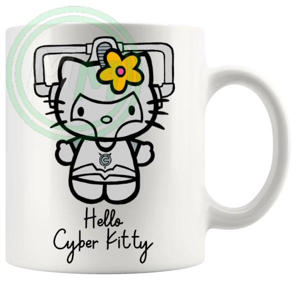 Hello Cyber Kitty Mug