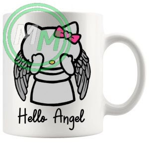 Hello Weeping Angel Mug