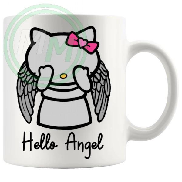Hello Weeping Angel Mug