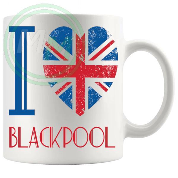 I Love Blackpool Mug