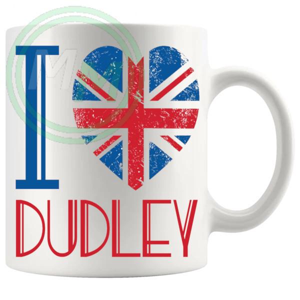 I Love Dudley Mug